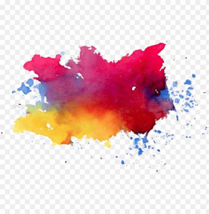 Colorful Paint Splatter Free Idea png