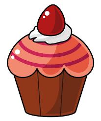 Cupcake At Vector Png