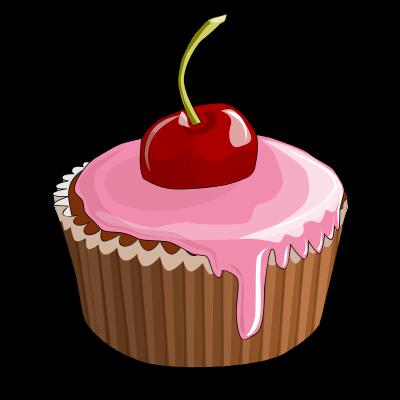 Cupcake Free Vector Png