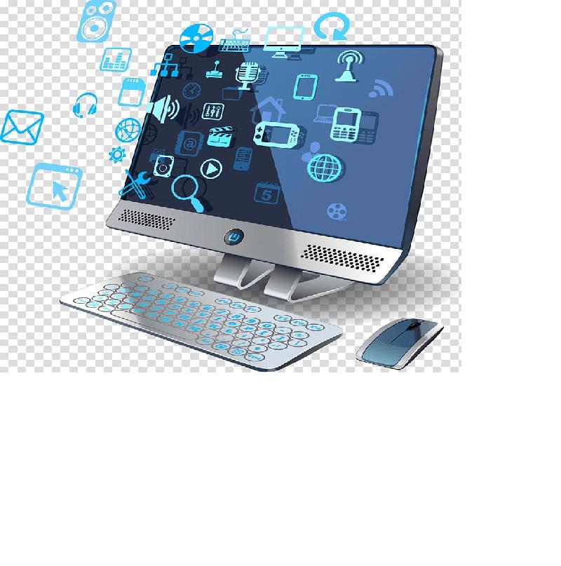 Custom Sofware Computer Png