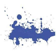 Dark Indigo Paint Splatter png