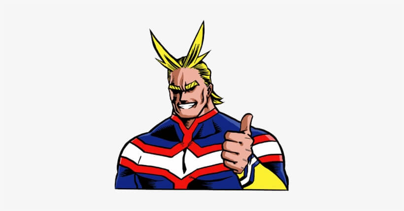 Face All Might png