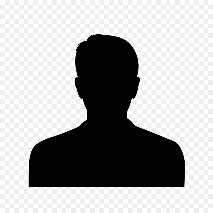 Face Male Silhouette png
