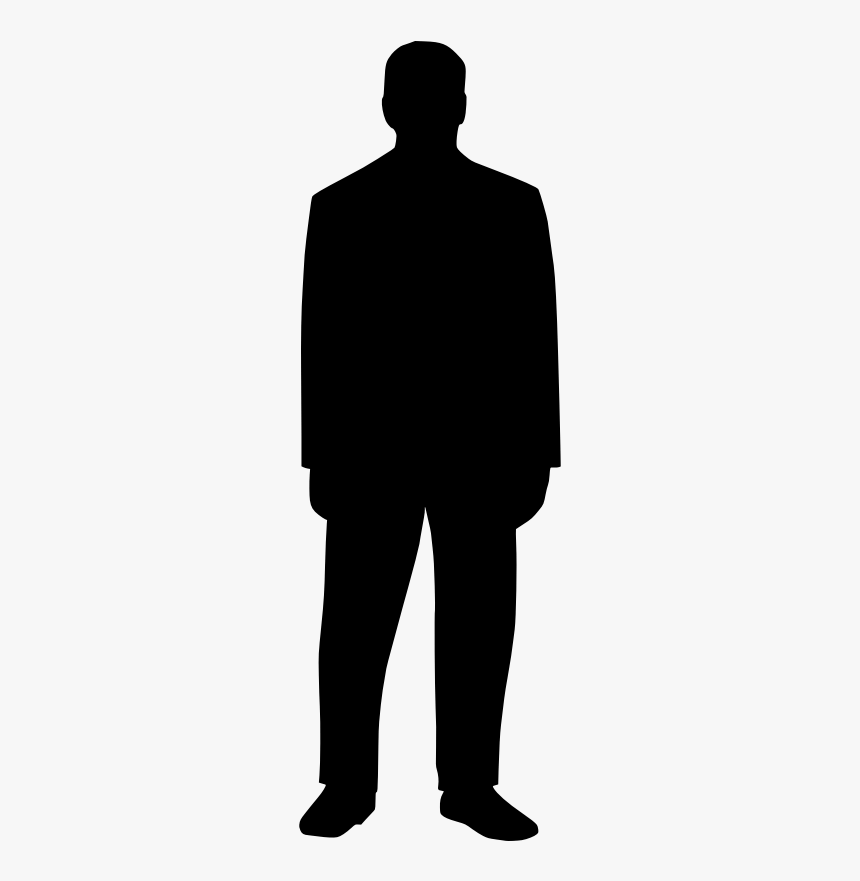 Fat Male Silhouette png