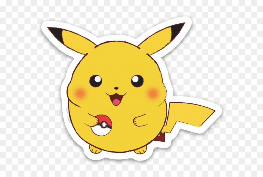Fat Pikachu Cute Png