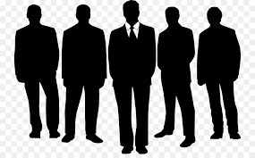 Five Male Silhouette png