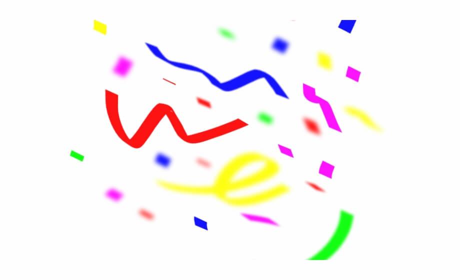 Free Confetti At Vector png