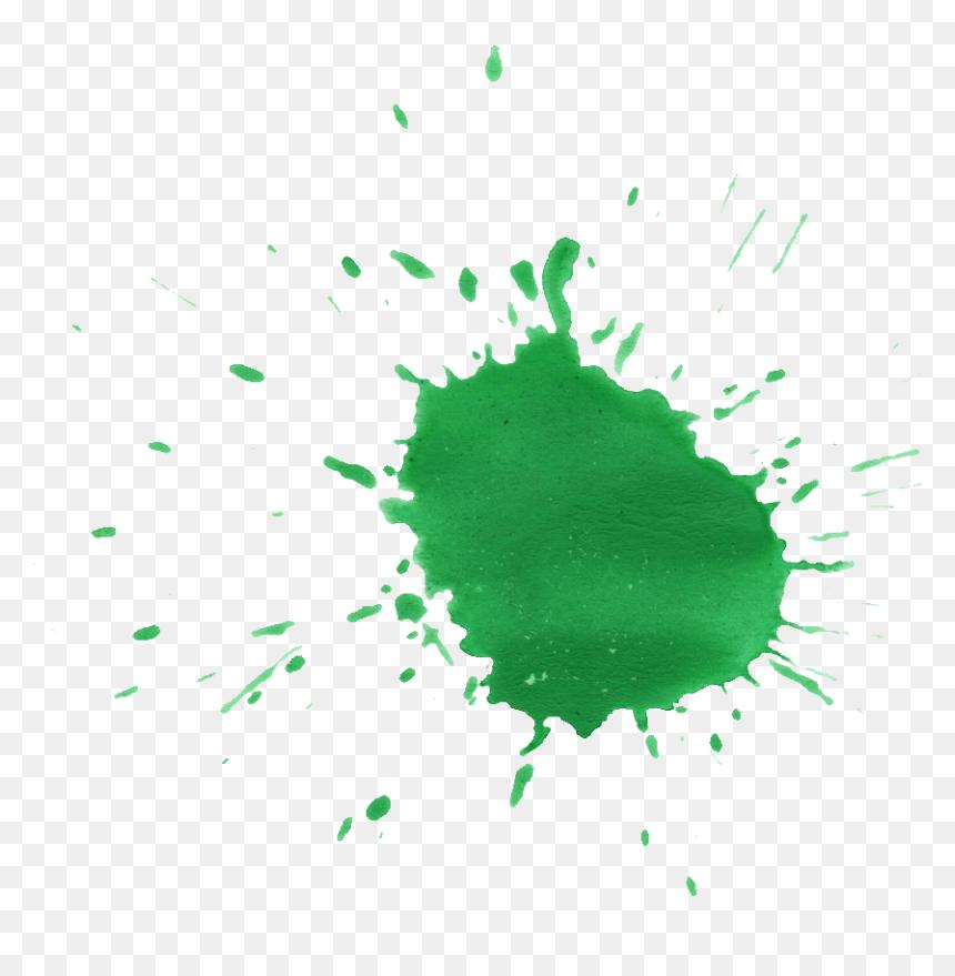 Green Paint Splatter png