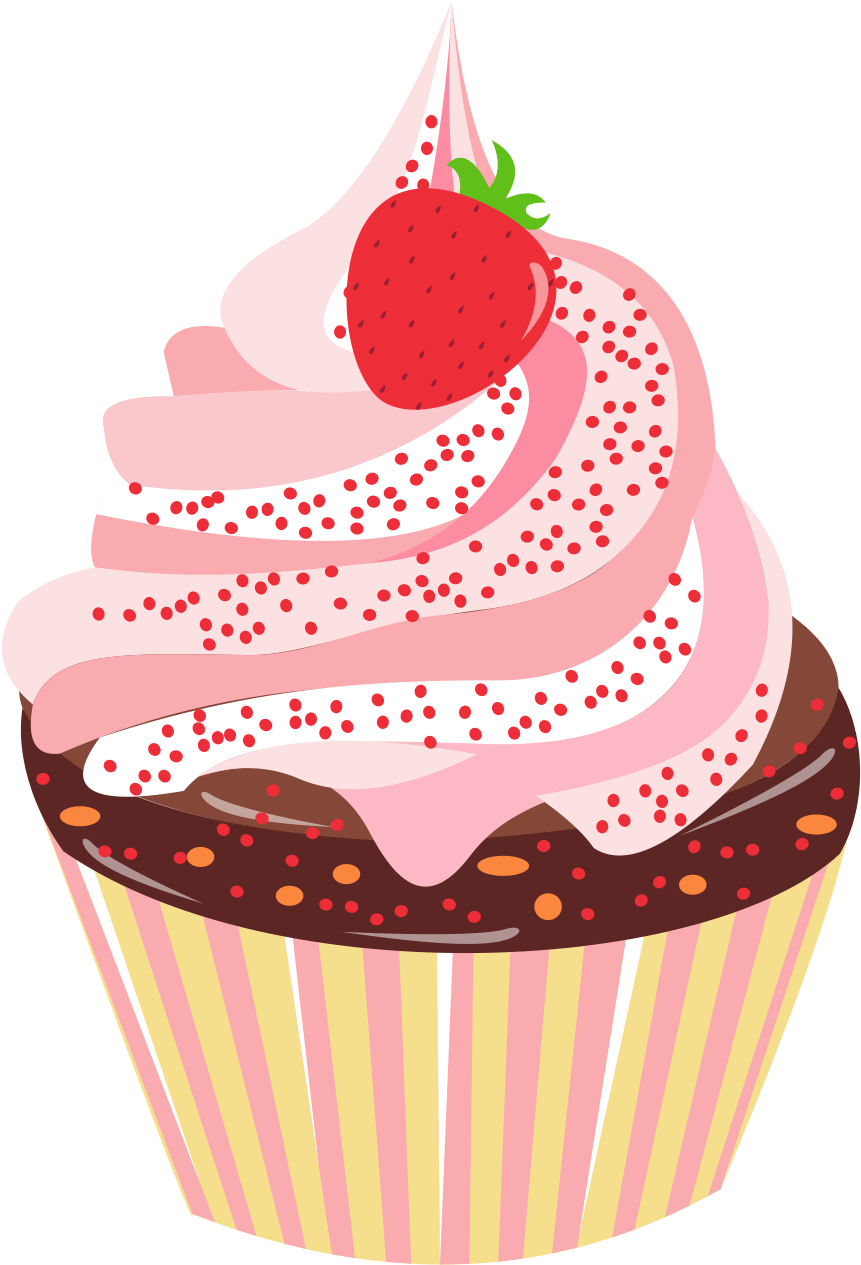 Hd Dessert Cupcake Element Design Png