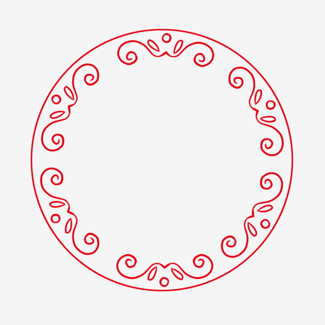 HD Red Circle Free Download png