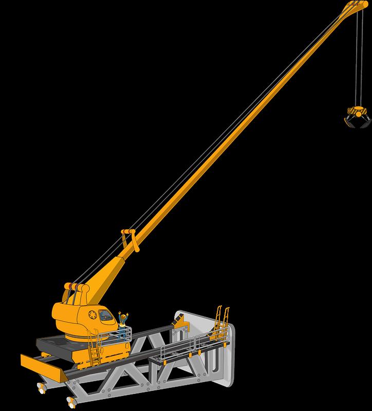Hd Crane Free Dowload Png