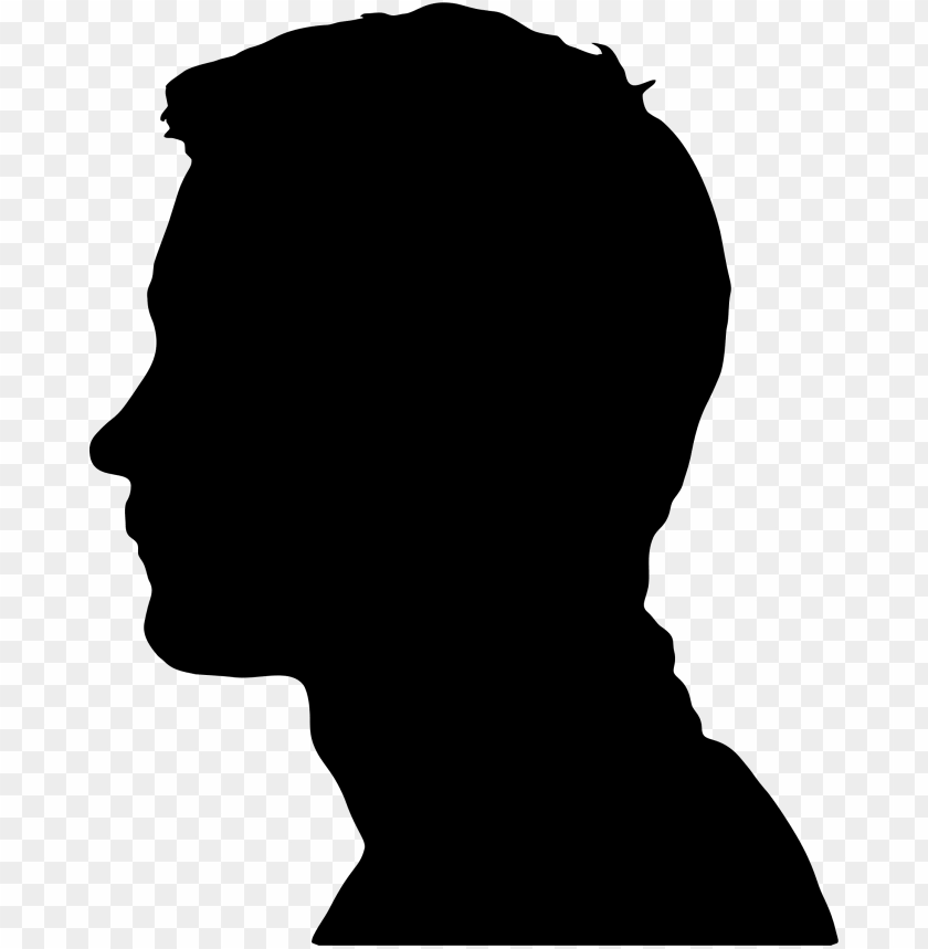 Head Male Silhouette png