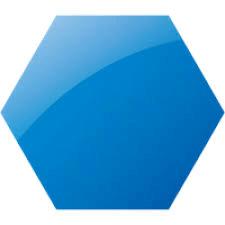 Indigo Hexagon png
