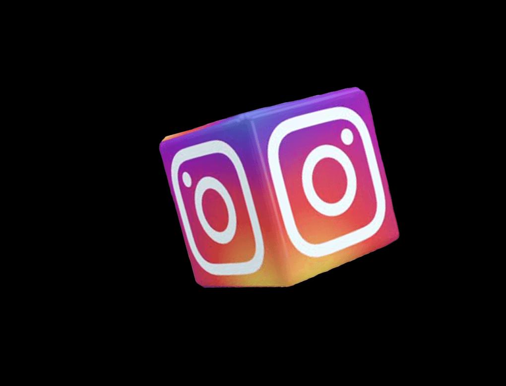 Instagram Logo Cube png