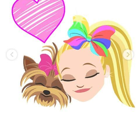 Jojo Siwa And Dog With Love png