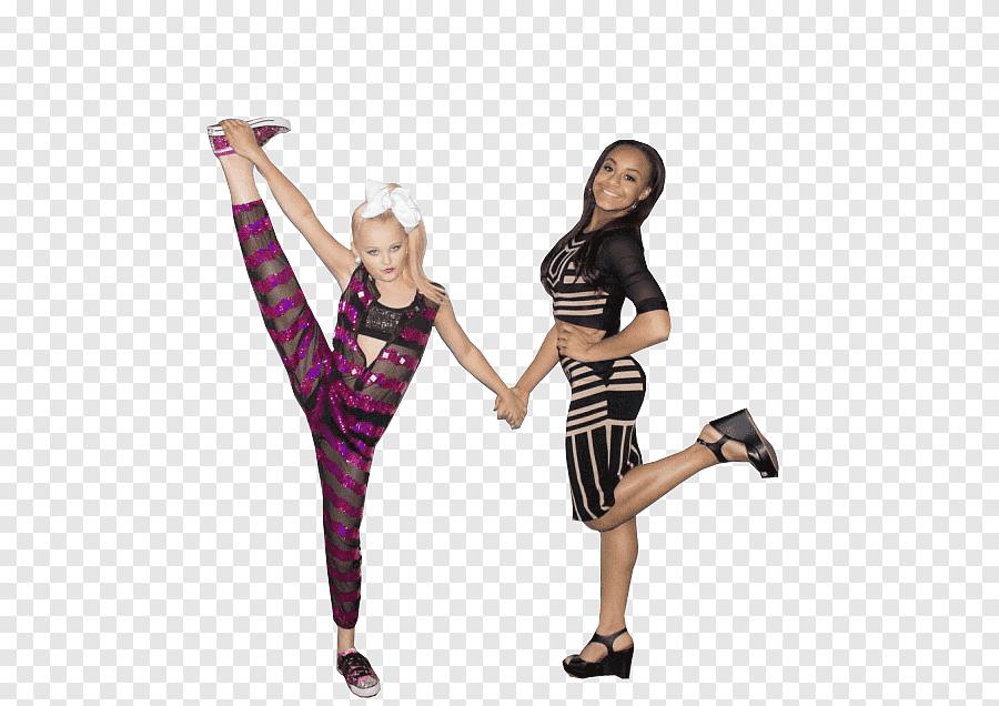 Jojo Siwa And Nia Sioux Dance png