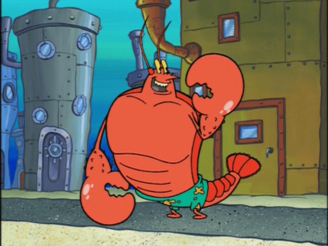 Larry The Lobster Png