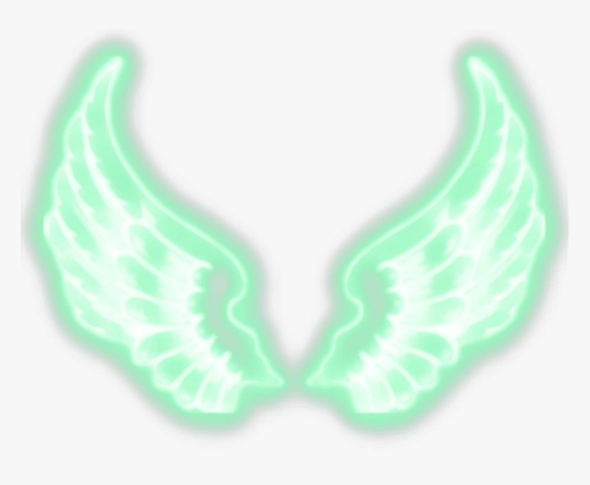 Light Green Neon Wing png