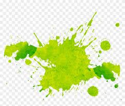 Light Green Paint Splatter png