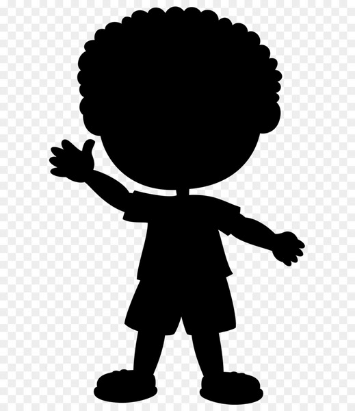 Male Child Silhouette png