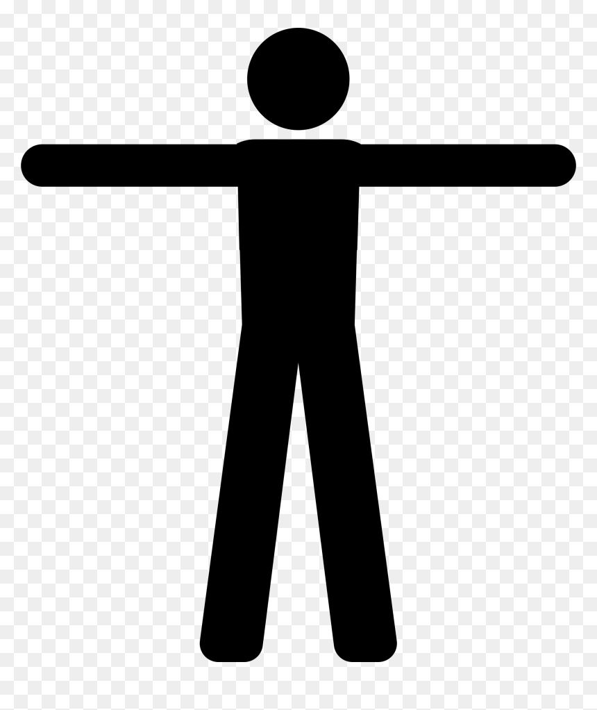 Male Silhouette At Vector png
