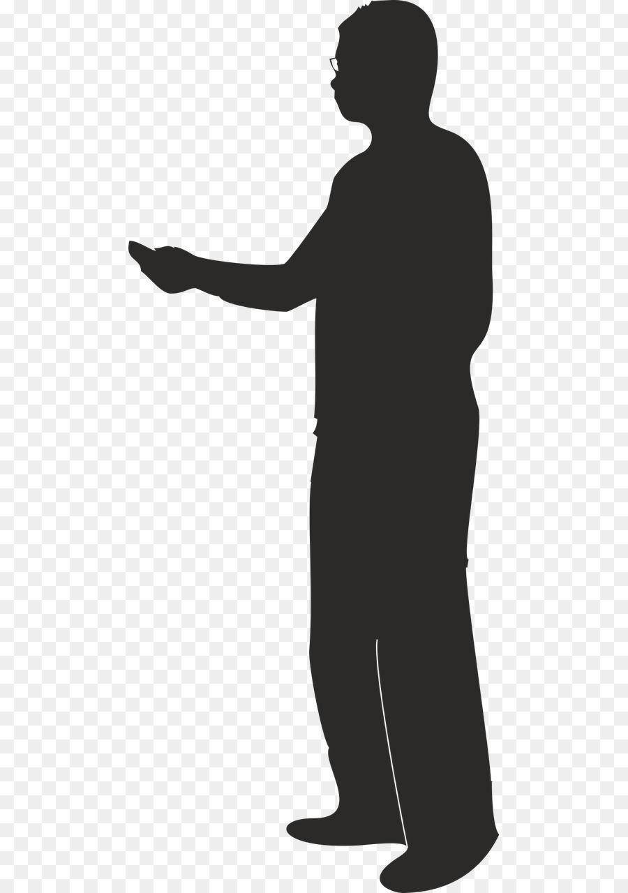 Male Teacher Silhouette png