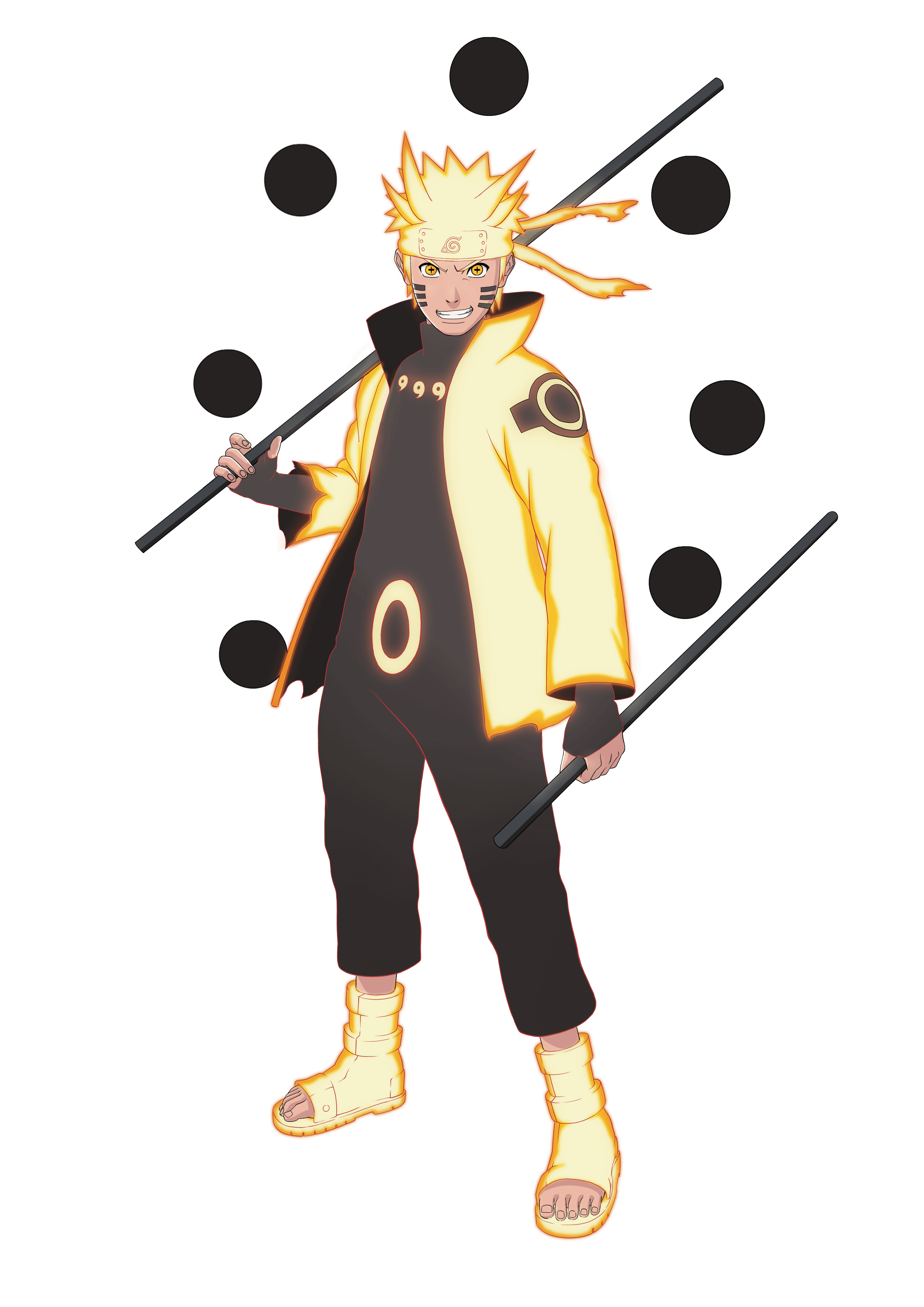 Naruto Ashura Mode png