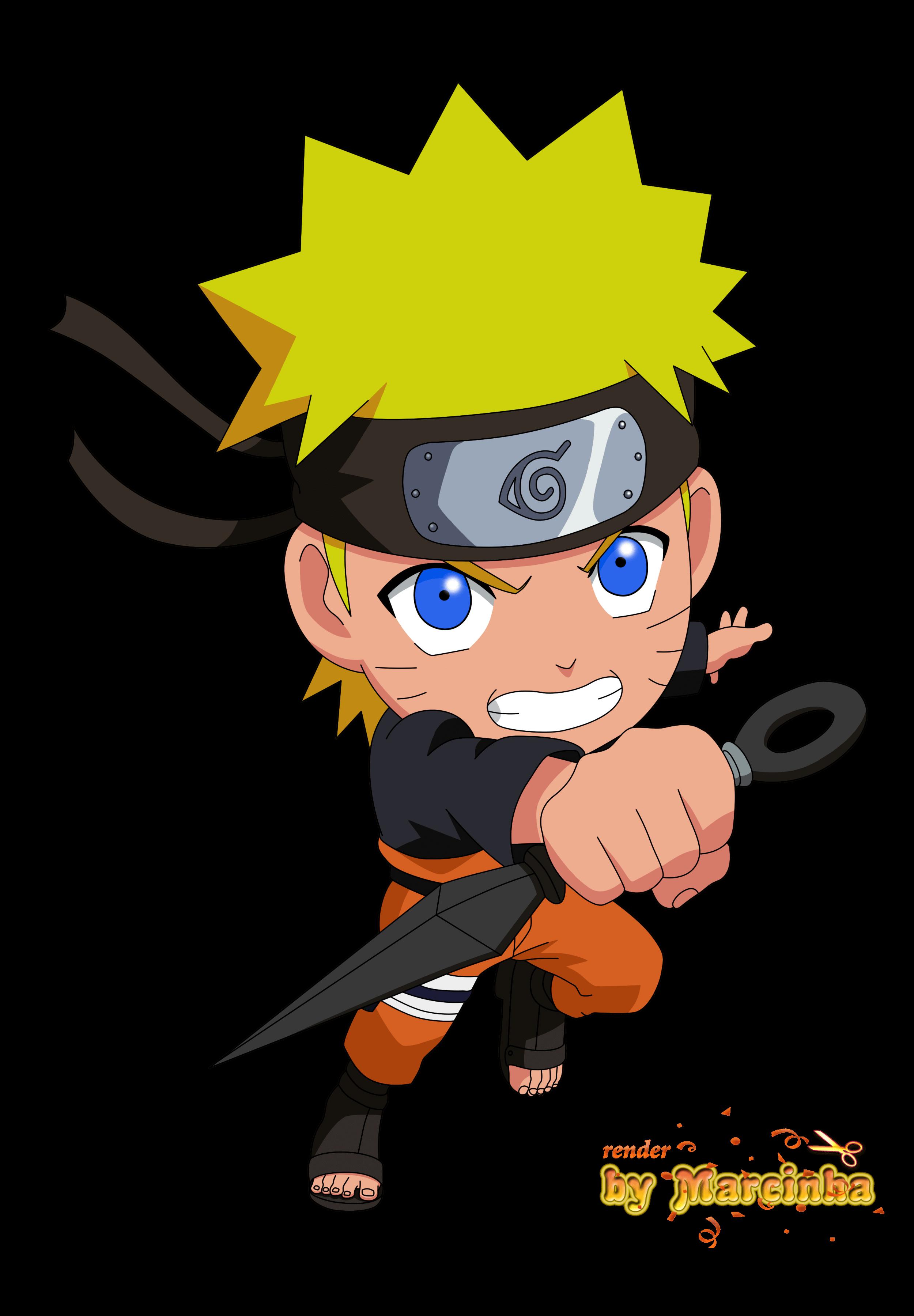 Naruto Chibi Angry png