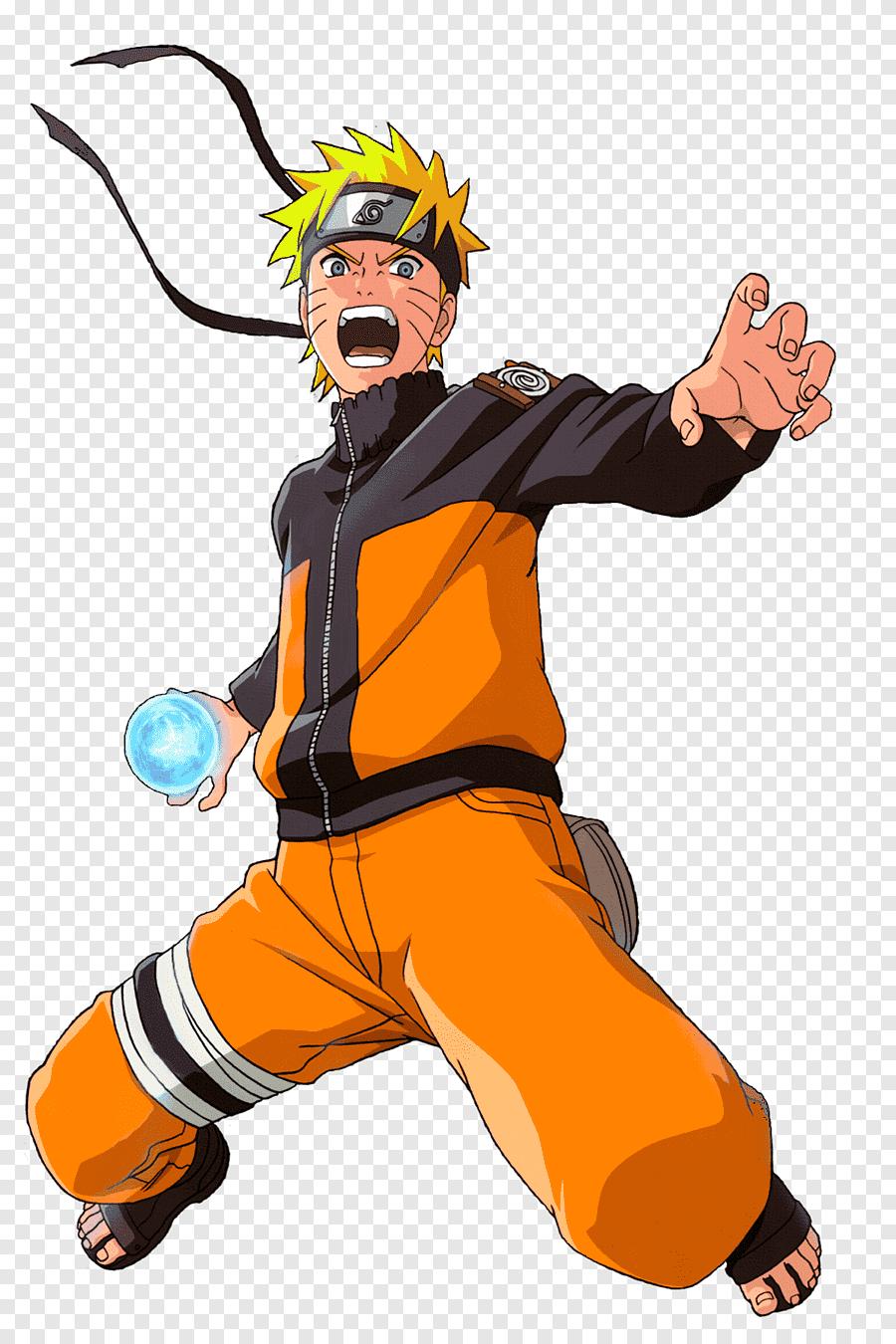 Naruto With Rasengan png