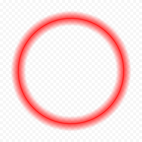 Neon Red Circle Free Idea png