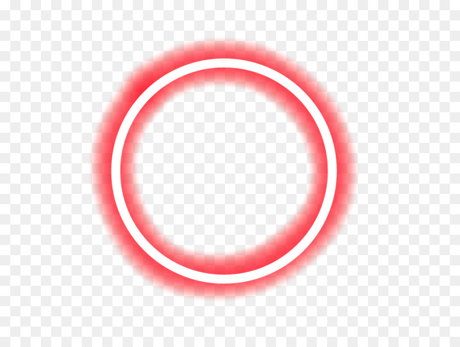 Neon Red Circle png