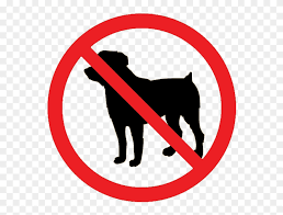 No Animal Prohibited Sign Png