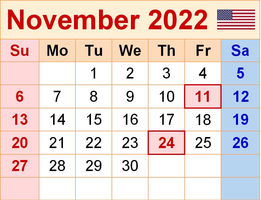 2022 Calendar PNG