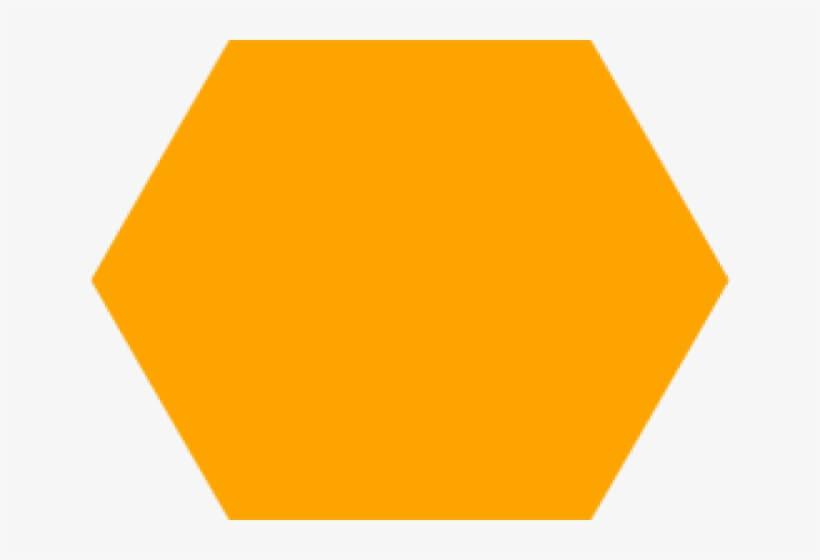 Orange Hexagon png