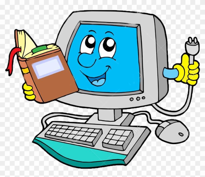 Pc Cartooon Computer Png
