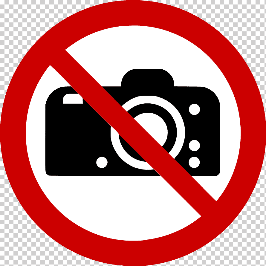 Photography Is Prohibited Sign Png