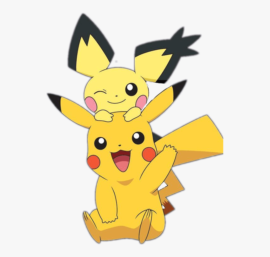 Pikachu And Brother Png