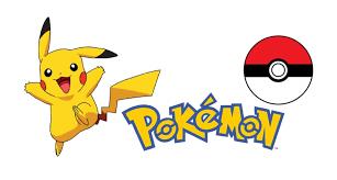 Pikachu And Logo Pokemon Png