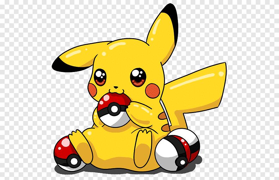 Pikachu And Pokeball Png
