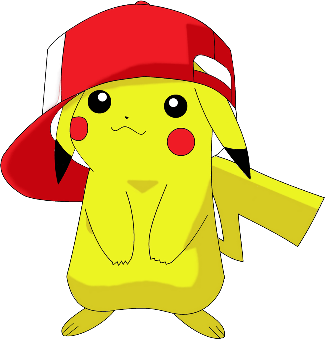 Pikachu And Red Hat Png