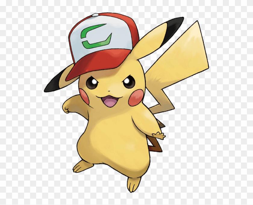 Pikachu Ash Cap Png