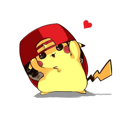 Pikachu Free Design Png
