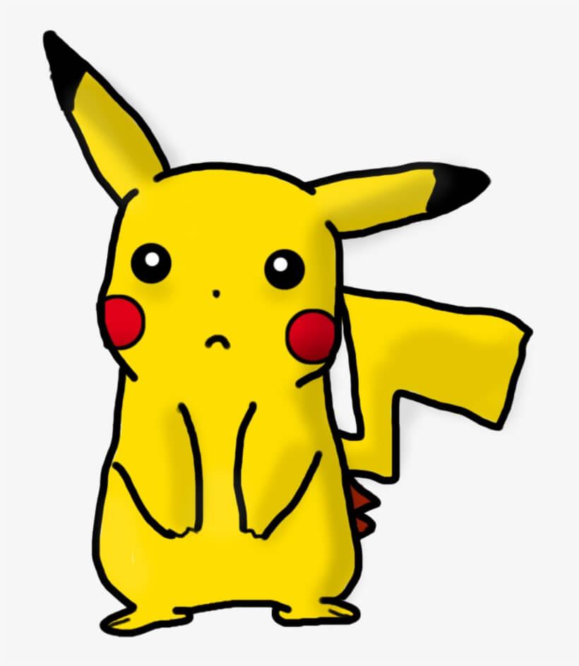 Pikachu Free Drawing Png