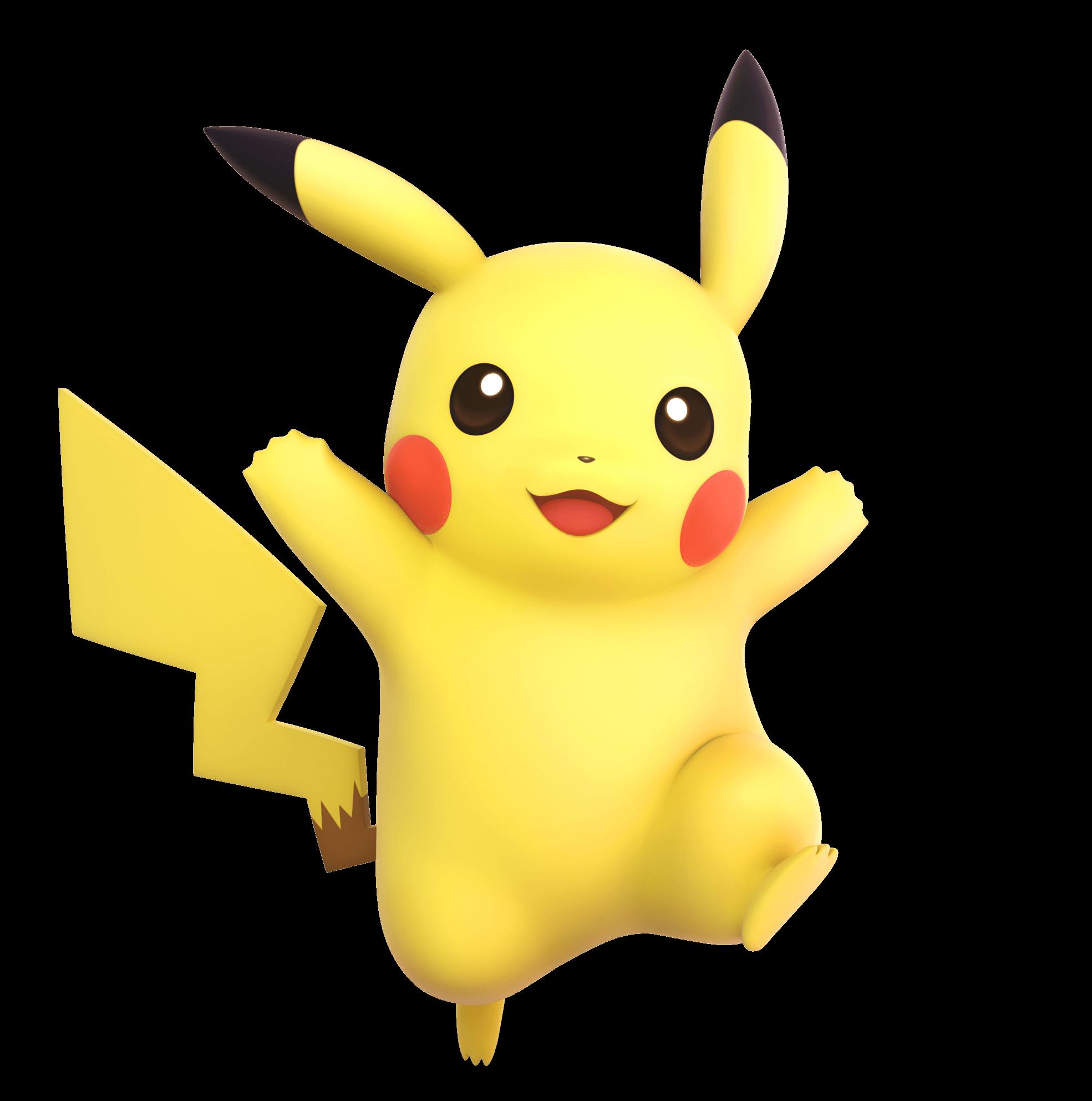 Pikachu Free Vector Png