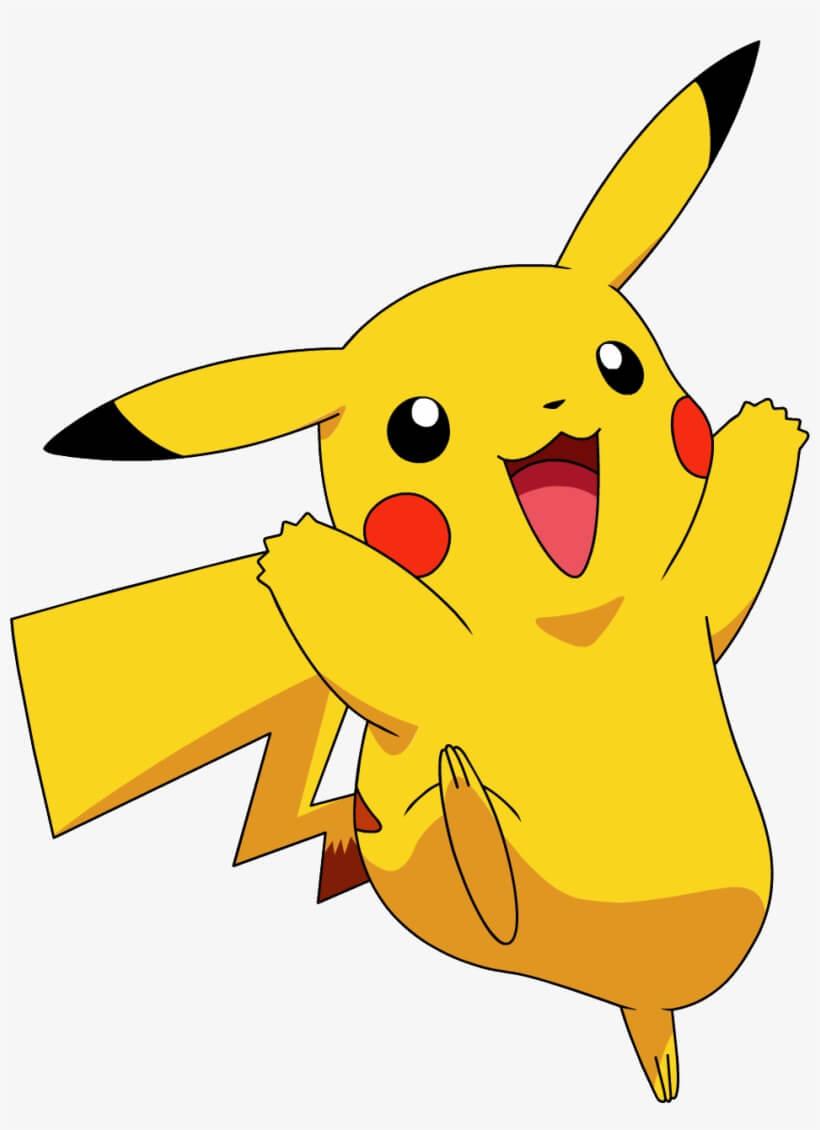 Pikachu Happy Png