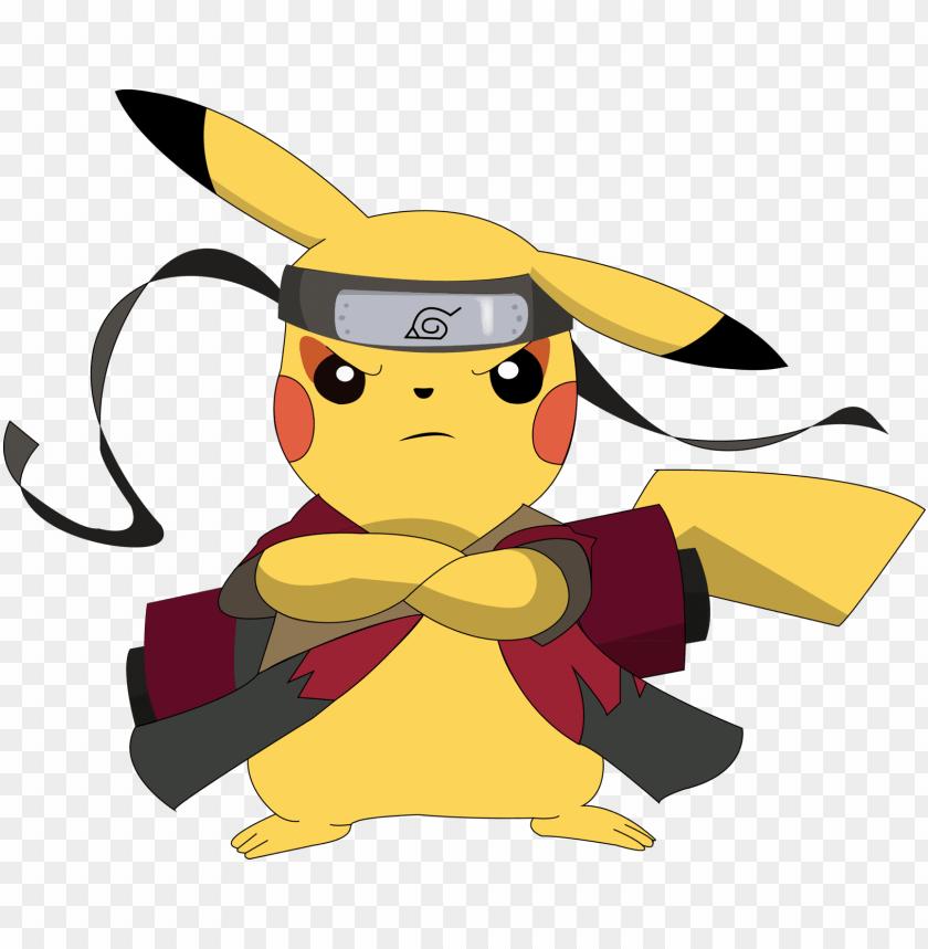 Pikachu Ninja Naruto Png