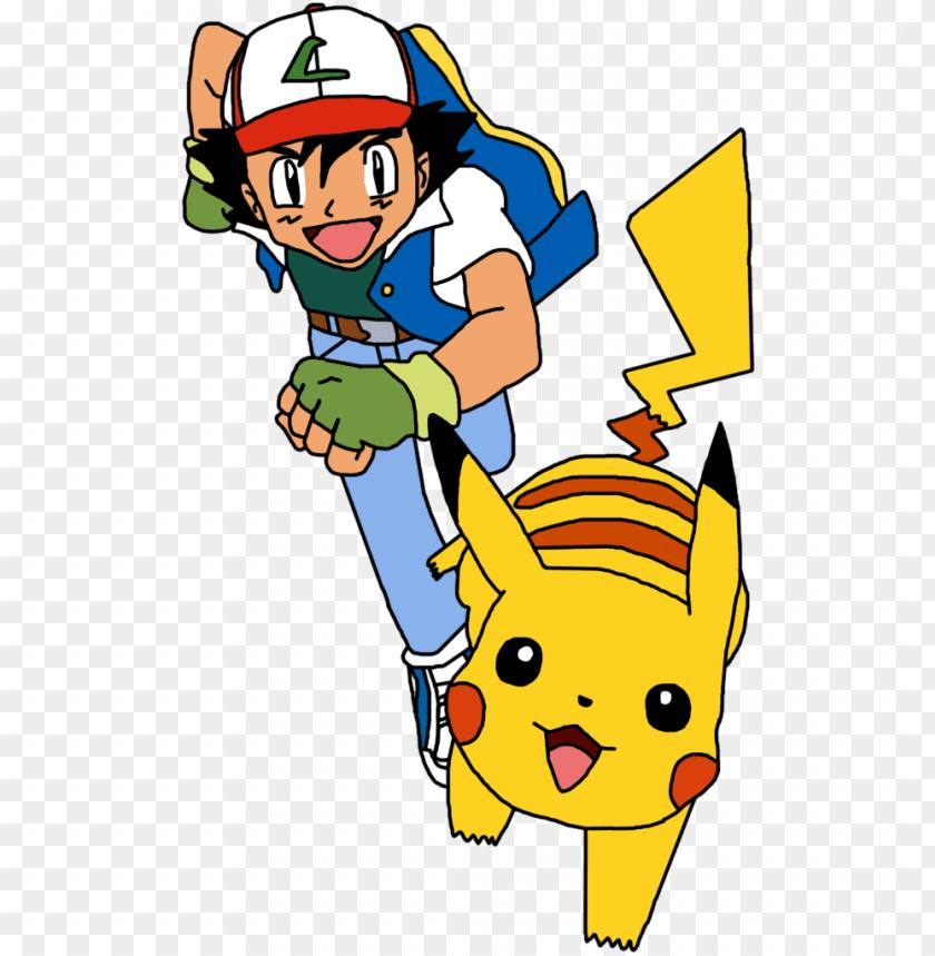 Pikachu Running Png