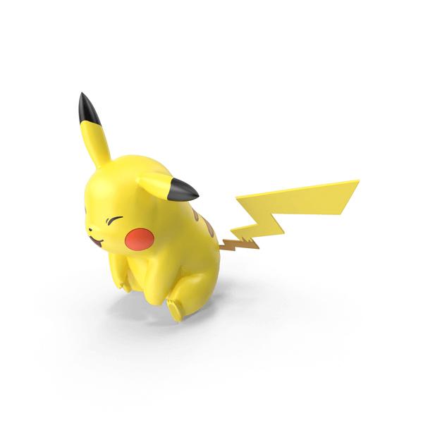 Pikachu Sitting Png
