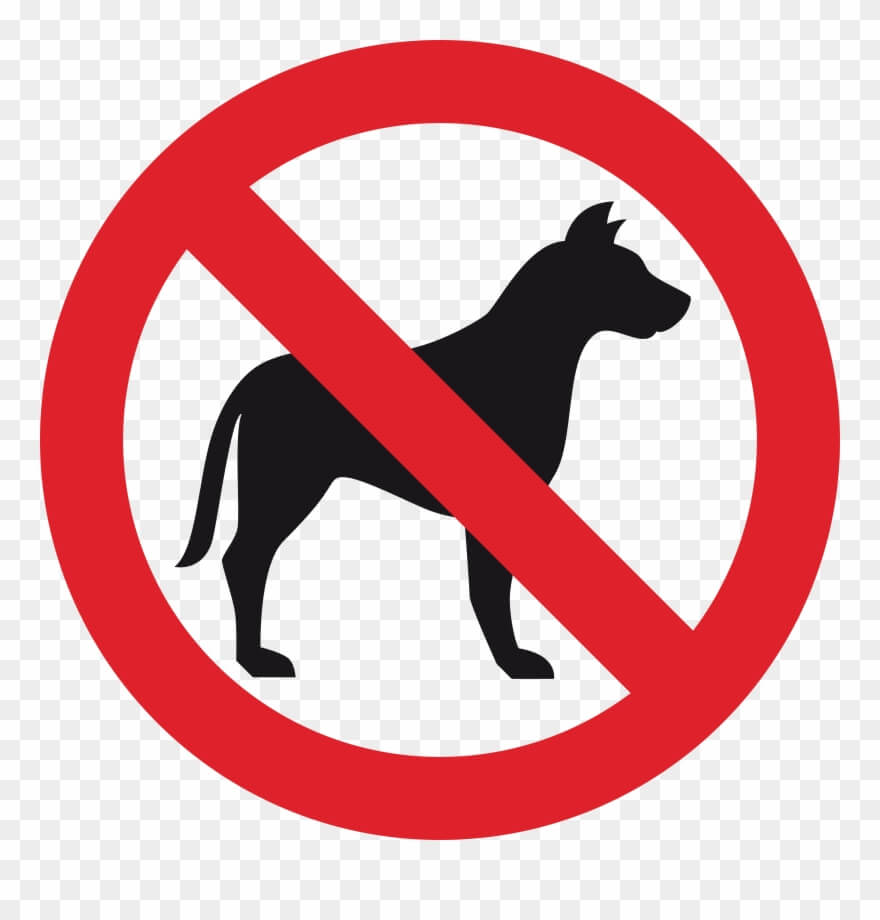 Prohibit Dogs Png