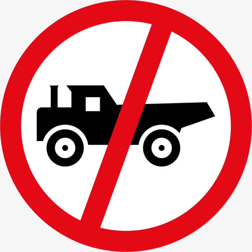 Prohibited Sign Cars Png